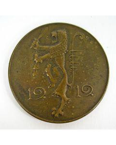 Penning, Protest tegen de Belgische annexatieplannen, 1919 [Chris van der Hoef]