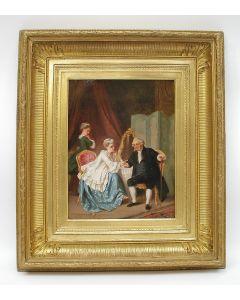 P.T. van Wijngaerdt, 'De galante heer', 1869
