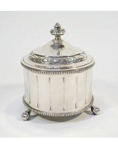 Zilveren tabakspot, Barend van Mecklenburg, Amsterdam 1790