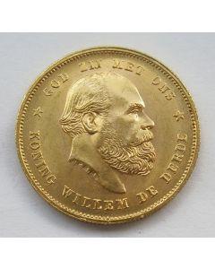 10 gulden goud, 1876