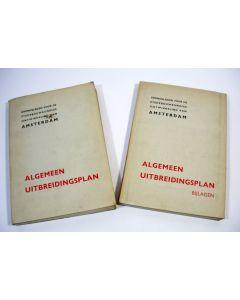 Grondslagen voor de stedebouwkundige ontwikkeling van Amsterdam. Algemeen uitbreidingsplan [1934]