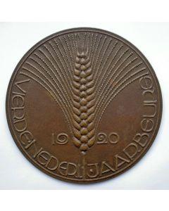 Gietpenning, Vierde Nederlandse Jaarbeurs, 1920 [Chris van der Hoef]