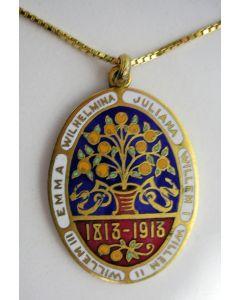 Gelegenheidshanger, Honderd jaar Koninkrijk, 1913