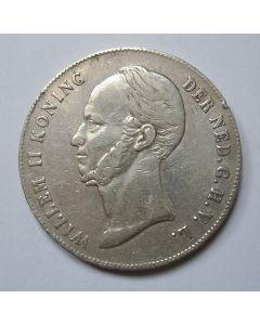 Rijksdaalder, 1846 (mmt. zwaard)