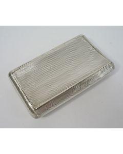 Zilveren tabaksdoos, 1832