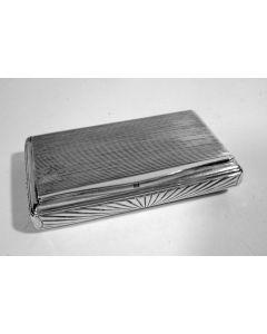 Zilveren snuifdoos, 1858