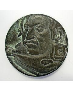 Jaarpenning VPK 1984 (#2), Günter Grass / De bot [Frank Letterie]
