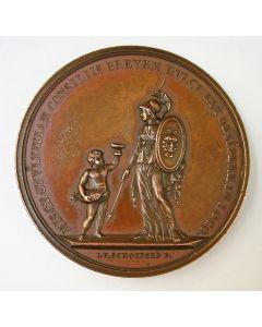Senaatspenning,  Senatus Veteranorum van het Utrechtsch Studentencorps, 1814