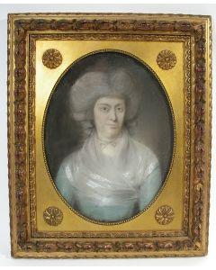 Johan Frederik August Tischbein, portret van een voorname dame, ca. 1785.