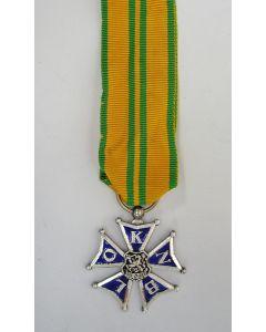 NBVLO Kruis voor Marsvaardigheid (Vierdaagsekruis), voor vijf deelnames.