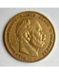 Duitsland (Pruissen), 10 mark 1879