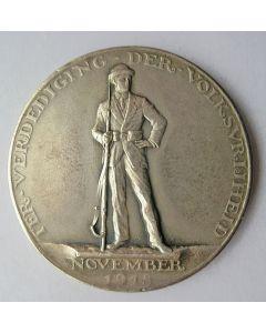 Penning op de revolutionaire onlusten van November 1918 [door J.C. Wienecke]