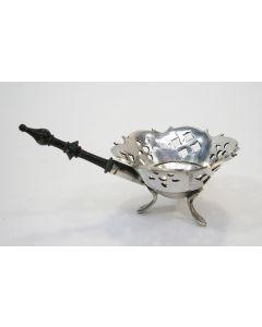 Zilveren miniatuur pijpkomfoor, Hendrik Duller, Amsterdam 1777