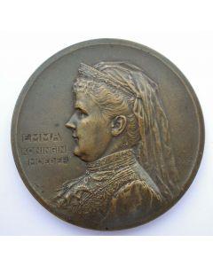 Prijspenning Koningin-Moeder Emma, 1909