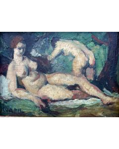 Charles Kvapil, Twee naakten, ca. 1928