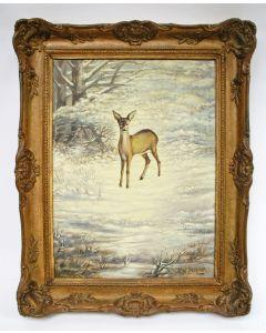 Jan Schonk, Reekalf in de sneeuw