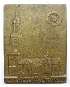 Penning, herstel Cunerakerk Rhenen, 1936 (door J.C. Wienecke)