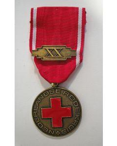 Medaille voor Trouwe Dienst - Nederlandse Rode Kruis