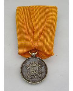 Medaille voor Langdurige Trouwe Dienst Koninklijke Marine in zilver