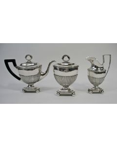 Empire zilveren theeservies, 1818