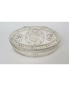Zilveren snuifdoos, Ath (B.) 1793