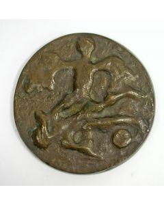 Bronzen familiepenning Begheijn, 1976 [Wim Rijvers]