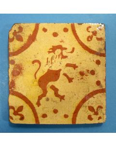 Vlaamse tegel, 18e eeuw