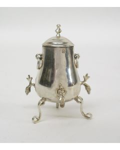 Zilveren miniatuur driekranenkan, Jacob Feenstra, Sneek 1902/3