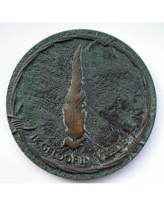 Jaarpenning VPK 2006,' Vrede-Vrijheid'. [Ralph Prins]