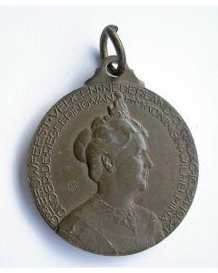 Draagpenning 3e eeuwfeest Vereniging Nederland en Curaçao, 1934