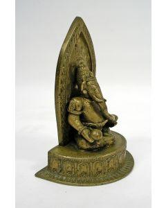Koperen beeld, Ganesha, Java ca. 1900