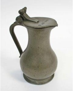 Tinnen eikelkannetje, Frankrijk, 18e eeuw