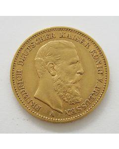 Duitsland (Pruissen), 20 mark 1888