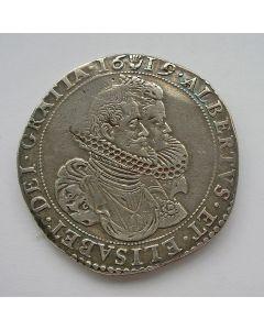 Brabant (Antwerpen), zilveren dukaton, 1619