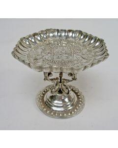 Zilveren kandijbakje, wapen van de Zeven Provinciën, 1899