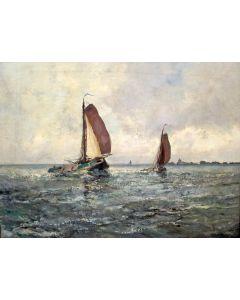 """Cornelis de Bruin, 'Voor Stavoren"""""""
