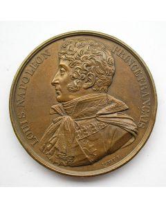 Penning,  Lodewijk Napoleon Koning van Holland