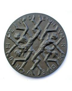 Jaarpenning VPK, 1955, Tien jaar bevrijding [Hans Petri]