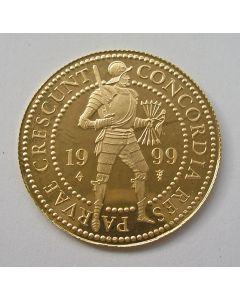 Dubbele gouden dukaat, 1999