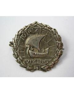 Zilveren draagspeld, U.R.Z.V. Viking, Utrecht, ca. 1910