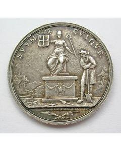 Penning op de readmissie van Jhr. Joan Derk van der Capellen tot den Pol tot de statenvergadering van Overijssel, 1782  [door Holtzhey]