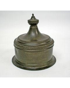 Tinnen tabakspot, 18e eeuw
