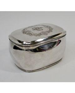 Zilveren koektrommel, Middelburg 1820