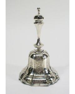 Zilveren tafelbel, Hendrik de Leeuw, Den Bosch 1860