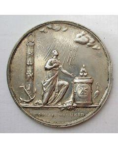 Penning ter gelegenheid van het zilveren huwelijk van Johannes Eijmer en Alida Eijmer-Zwartenhoff, 1821.
