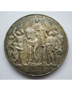 [Duitsland] herdenkingsmunt 3 mark 1913.