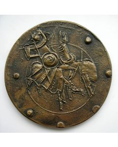 Bronzen familiepenning Begheijn-Willenborg [Wim Rijvers]