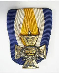Officierskruis, 15 jaar, 19e eeuw [door Van Wielik]