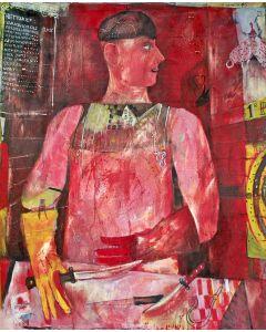 Jaap van der Pol, 'De slager', 1965
