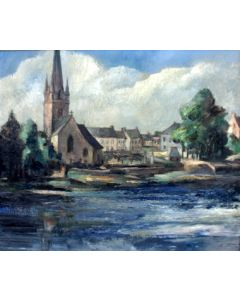 Jean Adams, 'Rosporden, Bretagne', 1952